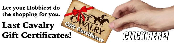 Last Cavalry Gift Certificates